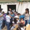 """Niños del Campamento """"Humilde Esperanza"""" Recibieron al Conejo de Pascua de Resurrección"""