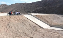 Un 95% de Avance Presenta II Etapa de Obras de Control Aluvional en Taltal