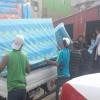 Municipio Entregó Ayuda a Damnificados por Incendio en Campamento