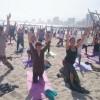 Antofagastinos Disfrutaron Con Primer Masivo de Yoga