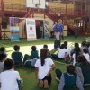 Horacio De La Peña Compartió Con 190 Escolares de Mejillones