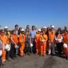 Ministra Ximena Rincón se Reunió Con Trabajadores Portuarios de Ultraport en Mejillones