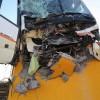 25 Metros Cuadrados de Muro Destruidos Por Accidente de Bus Interurbano en Plaza de Los Eventos