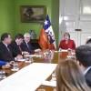 Alcaldes de la Región Se Reunieron Con la Presidenta Bachelet