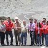 Inauguran Ruta de Acceso a Caleta El Cobre