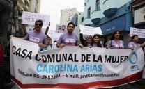 Con Pasacalle Antofagastinos Dijeron No Más Violencia Hacia la Mujer