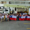 40 Brigadistas de Elecda Apoyan Recuperación de Suministro en el Sur