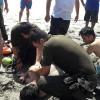 Carabineros Rescató a Bañista en Punta Itata