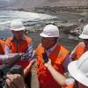 Autoridades Inspeccionaron Obras de Nueva Playa Artificial El Salitre