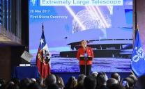 Instalan la Primera Piedra Del Mayor Telescopio Óptico Infrarrojo Del Mundo