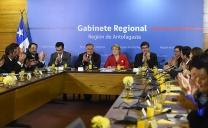 Presidenta Bachelet Encabezó Reunión de Gabinete Regional