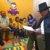 """""""Sala de Cuenta Cuentos""""  para Escuela de Lenguaje se Hizo Realidad Gracias a Finning"""