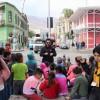 Escuela de Invierno de la D-73 Recorrió el Casco Histórico de la Ciudad