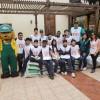 Sierra Gorda SCM Realiza Arborización en Liceos Emblemáticos de Antofagasta