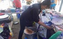Fuerte Fiscalización Realiza Seremi de Salud en Feria Las Pulgas