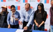 Ministerio del Deporte y Aguas Antofagasta Firmaron Convenio de Colaboración