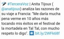 Municipio de Taltal Rechaza Dichos de Ana Tijoux