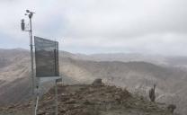 UCN Instaló Atrapanieblas en Reserva Nacional La Chimba