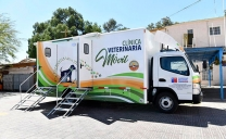 Municipio de Calama Recibió la Esperada Clínica Veterinaria Móvil