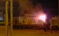 Condenan a Los Cinco Imputados Por Ataque a Carabineros e Incendio en Ferrocarril