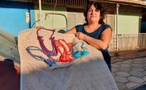 Seremi de Las Culturas Concluye Talleres Textiles Online en María Elena y Baquedano
