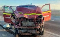 Carabineros Recupera Camioneta Robada la Que al Huir Colisiona Con Ambulancia