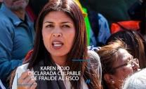 Karen Rojo Fue Declarada Culpable de Fraude al Fisco