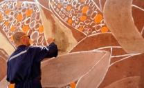 Arte en Tiempos Del Coronavirus: Mural Realizado Con Pinturas de Tierra Será la Nueva Postal de Bienvenida a San Pedro de Atacama