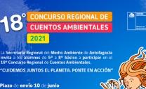 Convocan a Estudiantes a Participar en el 18° Concurso Regional de Cuentos Ambientales