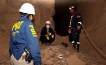 PDI y Bomberos de la Quinta Compañía Realizaron Búsqueda de Trabajador Desaparecido