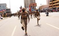 Impecable Parada Militar Por Las Glorias Del Ejército