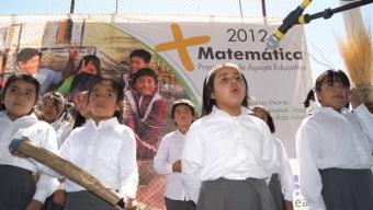 SQM DA INICIO A PROGRAMA EDUCACTIVO + MATEMÁTICAS 2012