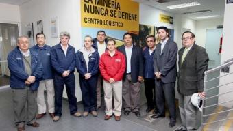 AUTORIDADES REGIONALES VISITARON PARQUE INDUSTRIAL EN ANTOFAGASTA