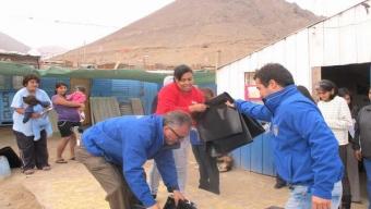 Municipio Entrega Nylon de Manera Preventiva en 14 Campamentos