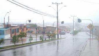 Onemi Decreta Alerta Temprana por Precipitaciones y Viento Moderado para la Región