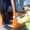 Multan por Más de 4 Millones a Empresa de Buses en Intenso Plan de Fiscalización