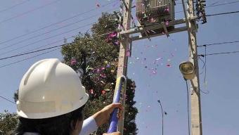 Elecda Reitera Llamado a No Lanzar Challa Metálica Cerca del Tendido Eléctrico