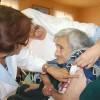 Continúa Vacunación a Adultos Mayores Contra la Influenza