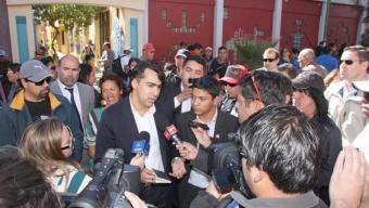 Marco Enríquez-Ominami Entrega Fuerte Respaldo a Miguel Ballesteros y Anuncia desde Calama Propuestas de Salud