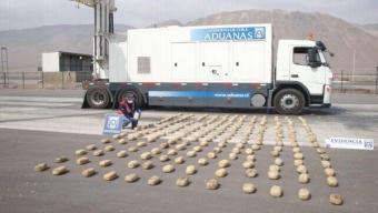 Detectan Neumáticos Rellenos con Más de 266 kilos de Pasta Base