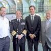 Puerto Angamos Recibe Buque de la Armada Destinado a Operativo médico para el Norte del País