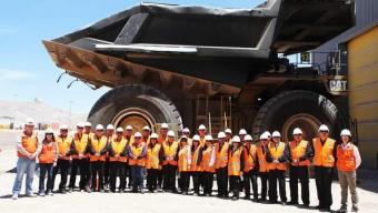 Delegación de la Gobernación Marítima de Antofagasta Visita Minera Esperanza