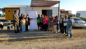 Con Financiamiento de E-CL Inauguran Primer Gabinete Paramédico en Zona Rural de Tocopilla