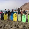 Mindep Implementa Escuela de Especialización de Bodyboard y Surf
