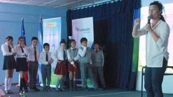 Escolares de Mejillones Refuerzan su Inglés con Munk