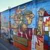 Alumnos del Liceo B-9 de Calama Realizan Mural Intercultural con el Apoyo de FCAB