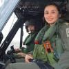 Vª Brigada Aérea Realizó Vuelo en Material Bell-412 con Tripulación Femenina