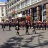 Impecable Desfile Escolar Por Celebraciones Patrias