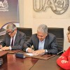 UA y Sierra Gorda SCM Firman Convenio de Colaboración de Investigación y Desarrollo