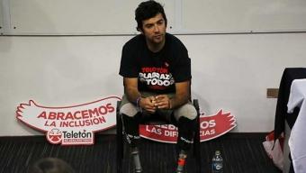 El Ciclista Paralímpico Adolfo Almarza Llegará a Antofagasta en el Marco de la Gira Teletón 2017